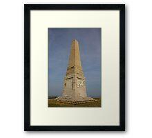Yarborough Monument Framed Print