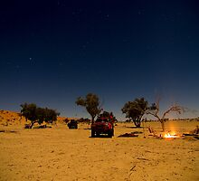 Desert Night by BigRed