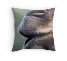 Camel Muzzle Throw Pillow