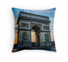 Arc De Triomphe 3 Throw Pillow