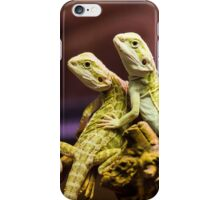 Lizards in Love iPhone Case/Skin