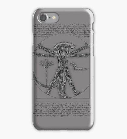VitruvianAlien iPhone Case/Skin