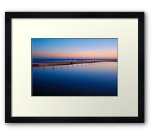 Morning Pool Framed Print