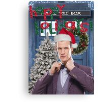 Dr. Eleventh Xmas Canvas Print