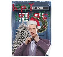 Dr. Eleventh Xmas Poster