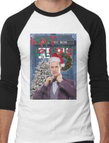 Dr. Eleventh Xmas Men's Baseball ¾ T-Shirt