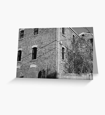 Streetscape - Richmond Greeting Card