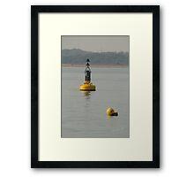 Gurnard Buoy Framed Print