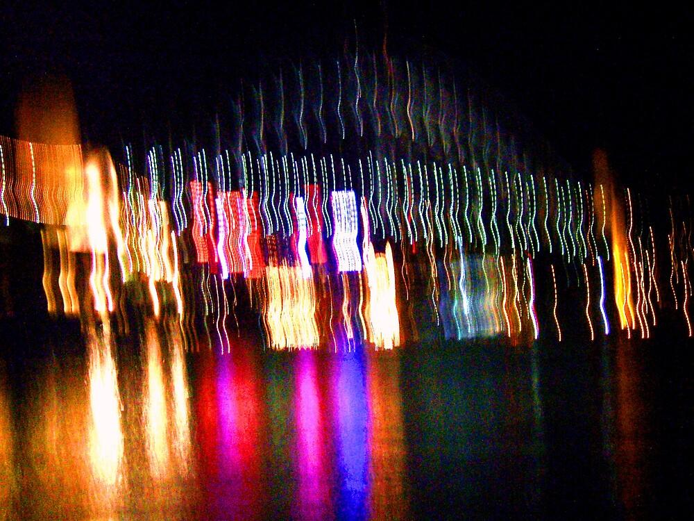 Sydney Harbour Bridge at Night by RobMehigan
