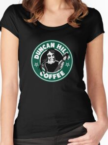 Duncan Hills Coffee (Toki) Women's Fitted Scoop T-Shirt