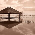 Cambodian Hut by Samuel Tonin