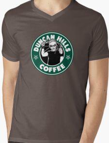Duncan Hills Coffee (Pickles) Mens V-Neck T-Shirt