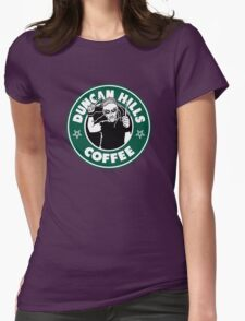 Duncan Hills Coffee (Pickles) Womens Fitted T-Shirt