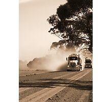 Bulldust Drive Photographic Print