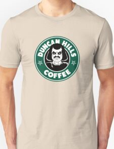 Duncan Hills Coffee (Murderface) Unisex T-Shirt