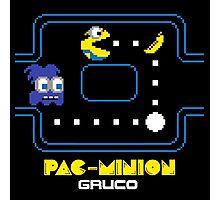 Pac-Minion shirt poster mug iphone 6 case pillow Photographic Print