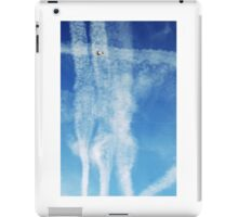 A busy sky iPad Case/Skin