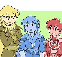 Fire Emblem 4 - Sons by wattleseeds