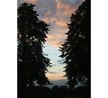 Guildford sunset Photographic Print