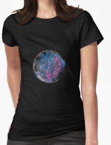 Galaxy Womens Fitted T-Shirt