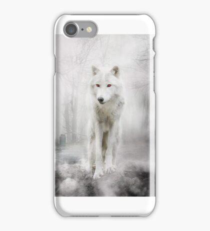 Wolf Artwork - GHOST iPhone Case/Skin