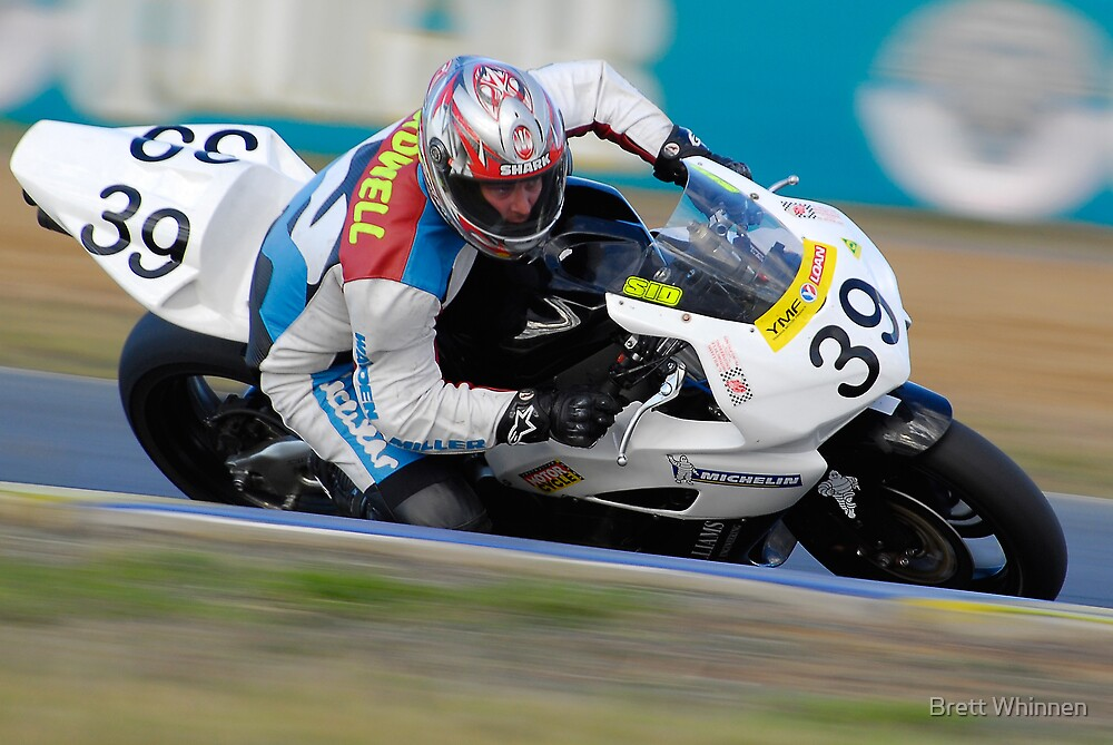 Brent Sidwell - Superbikes by Brett Whinnen
