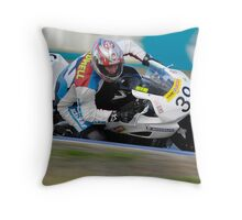 Brent Sidwell - Superbikes Throw Pillow