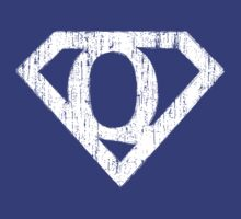 Q letter in Superman style by Stock Image Folio