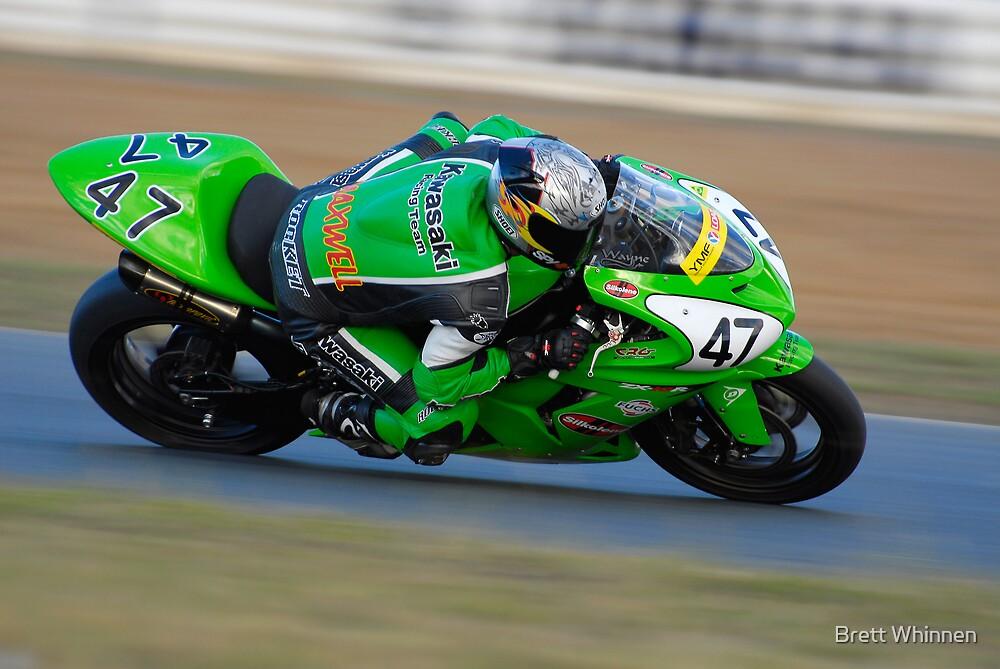 Wayne Maxwell - Superbike by Brett Whinnen