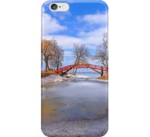 Red Bridge iPhone Case/Skin