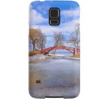 Red Bridge Samsung Galaxy Case/Skin