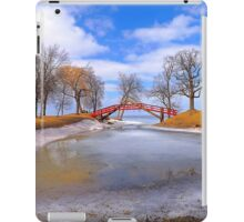 Red Bridge iPad Case/Skin