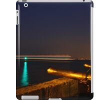 Red Jet 4 passing Cowes at Night iPad Case/Skin