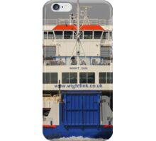 Wight Sun approaching Yarmouth iPhone Case/Skin