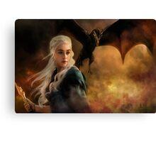 Game of Thrones - Daenerys Canvas Print
