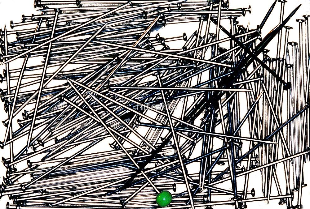 Pins sans needles by nitrams