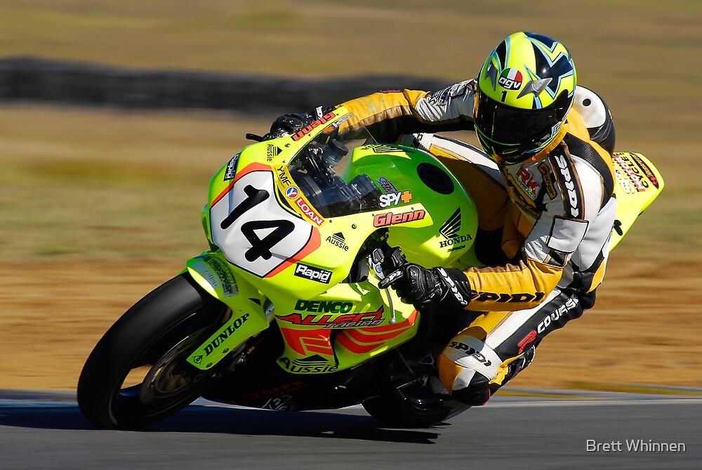 Glenn Atterton - Superbikes by Brett Whinnen