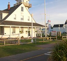 Old Coast Guard station by vasnowman