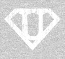 U letter in Superman style One Piece - Long Sleeve