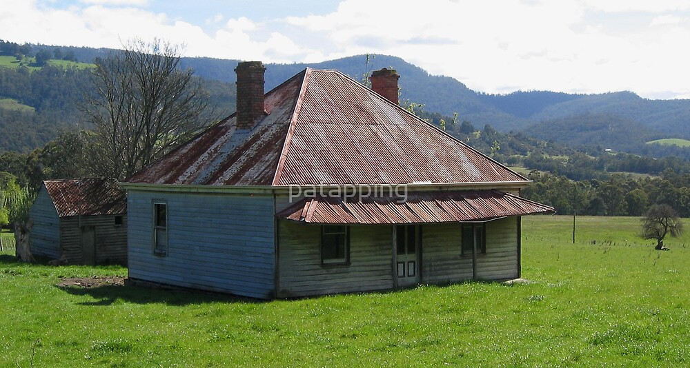 Old house, Tasmania by patapping