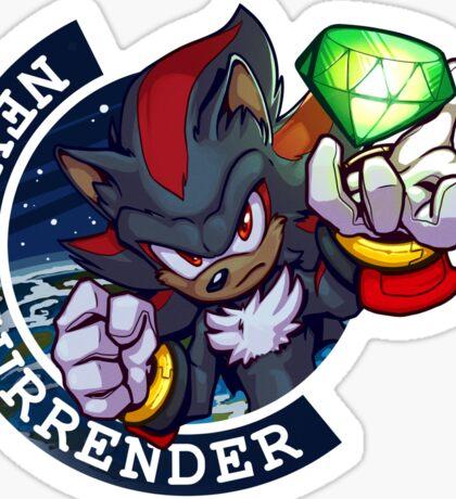 Never Surrender: Shadow Sticker