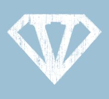 V letter in Superman style One Piece - Short Sleeve