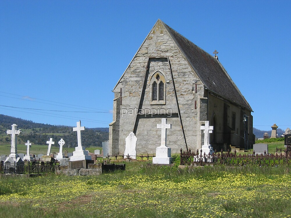 Old Church, Tasmania by patapping