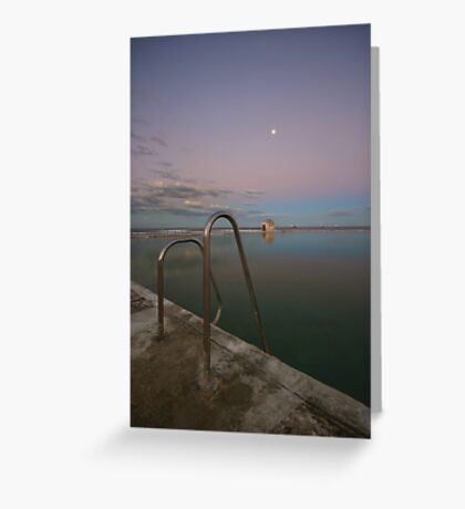 Merewether Baths at Dusk 7 Greeting Card