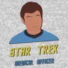 Star Trek Dr McCoy by Marta Pais