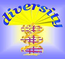 Diversity blossom by w1z111
