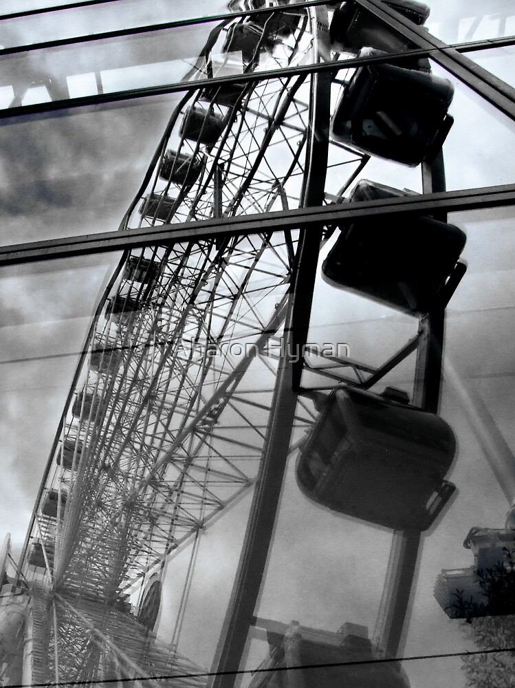 manchester eye reflection by Aharon Hyman
