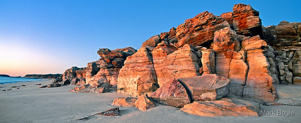 Cape Leveque Cliffs by Mark Boyle
