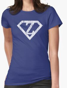 Z letter in Superman style Womens Fitted T-Shirt