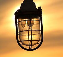 Lamp Sunset by Jonathan Cox